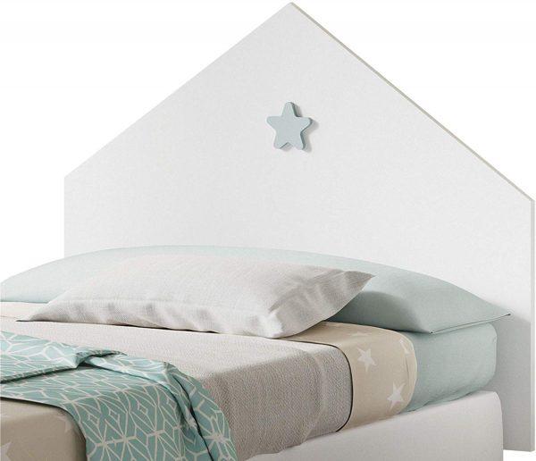 cabezal cama juvenil infantil estrella 2020