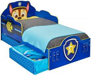 cama infantil paw patrol azul niño 2020