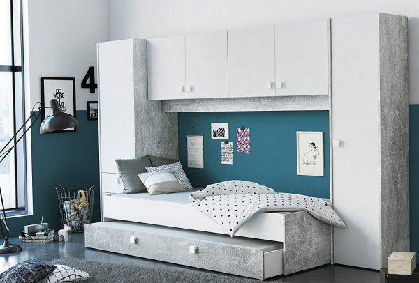 pack dormitorio juvenil estilo industrial 2020