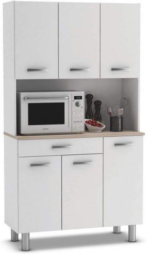 armario cocina alacena 6 puertas