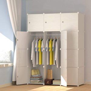 armario ropero modular madera