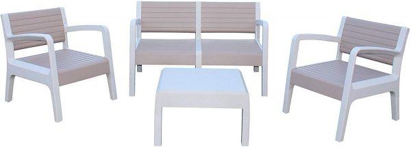 muebles jardin terraza beige