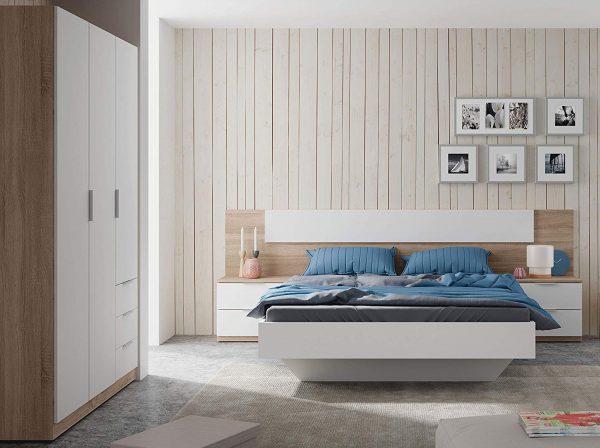 dormitorio matrimonio completo estilo nordico 2020