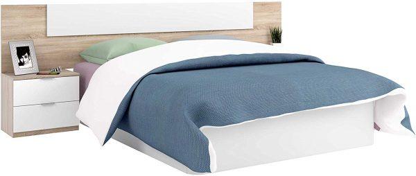 Dormitorio matrimonio estilo nórdico