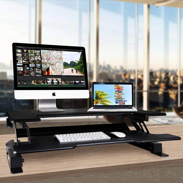 Estación de trabajo monitor mesa para ordenador