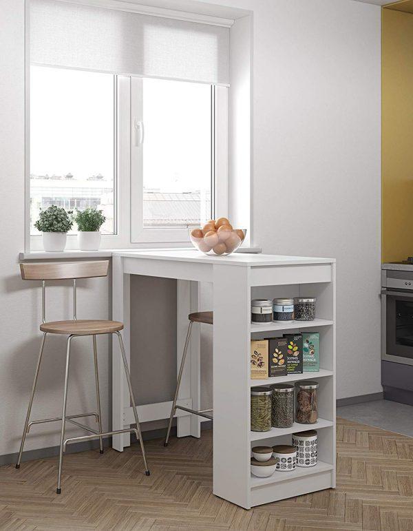 mesa de cocina moderna blanco