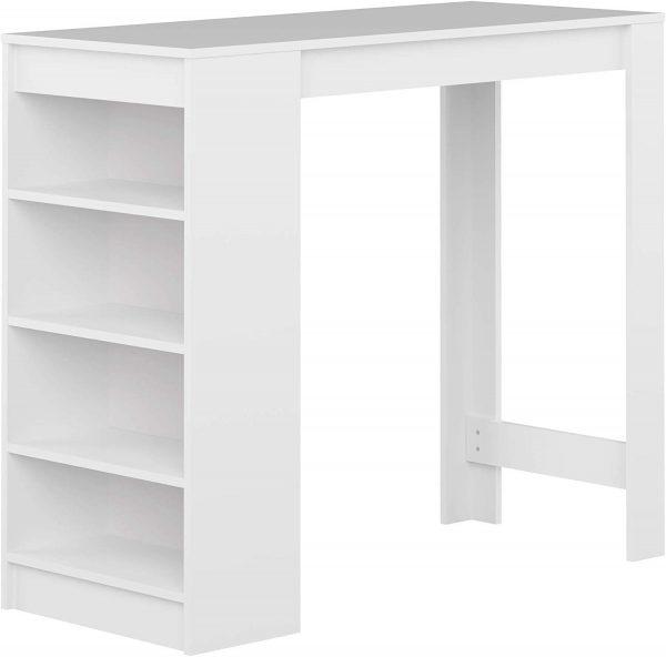 Mesa de cocina moderna Ramsay blanco