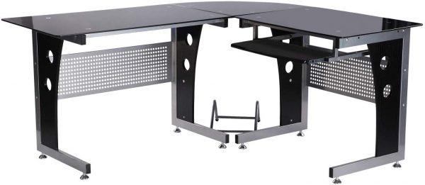 mesa de oficina en L esquinera