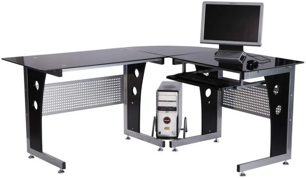 Mesa de oficina tipo escritorio ala esquinera