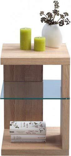 Mesa auxiliar madera de roble