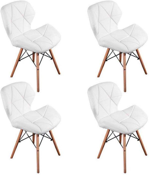 pack 4 sillas comedor estilo retro