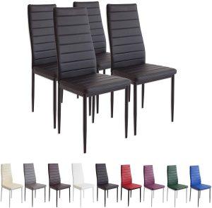 set 4 sillas comedor 2020