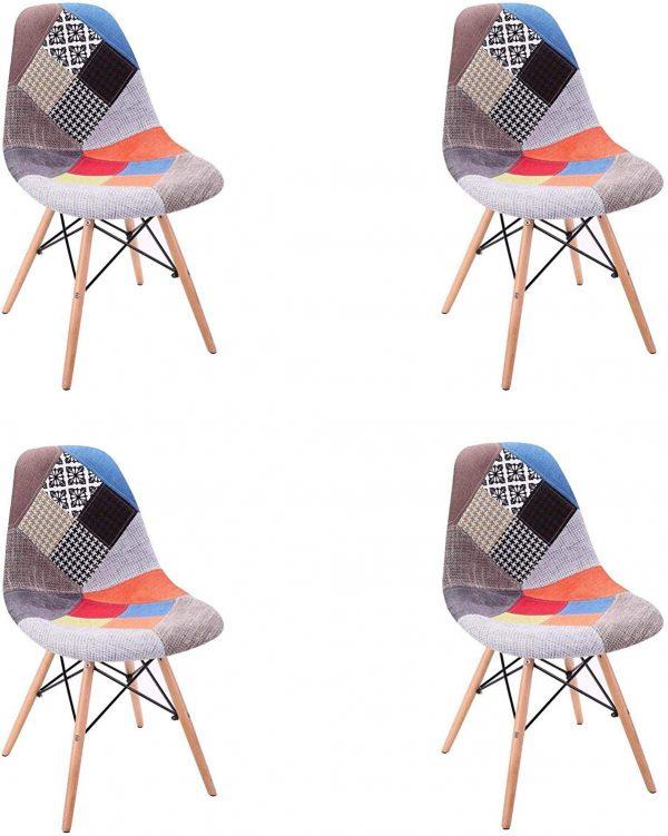 silla comedor moderna tapizada