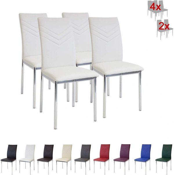set sillas comedor verona diseño italiano