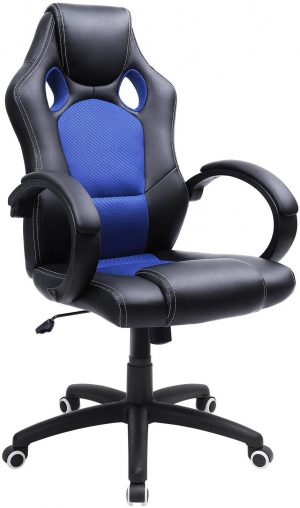 silla gaming ergonomica azul