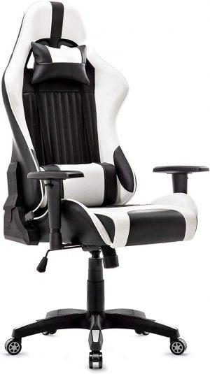 silla gamer ergonomica blanco