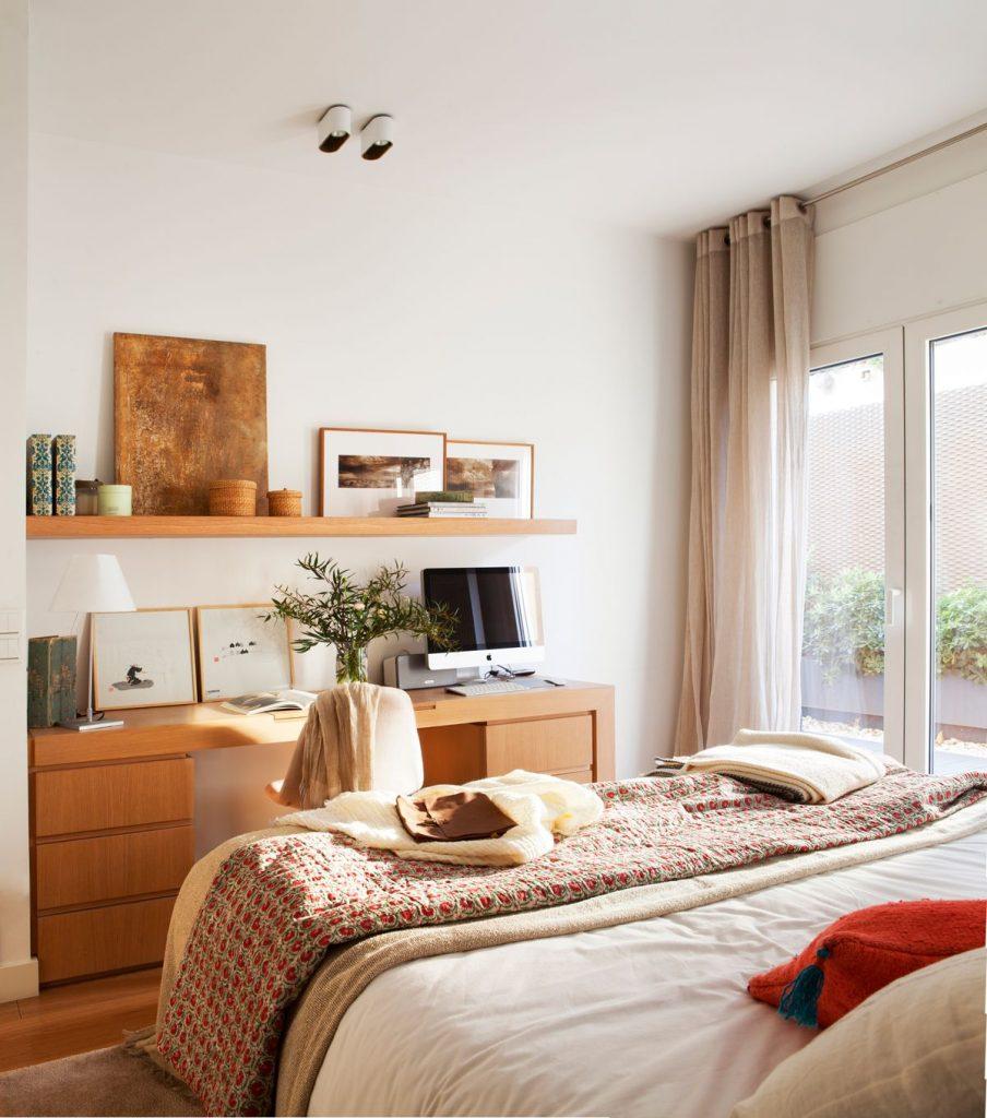 ¿Como decorar un dormitorio pequeño?