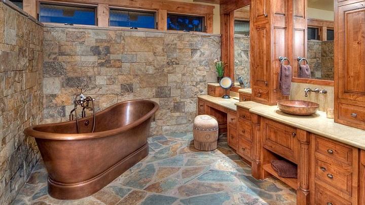 Decora tu Baño con Estilo Rústico