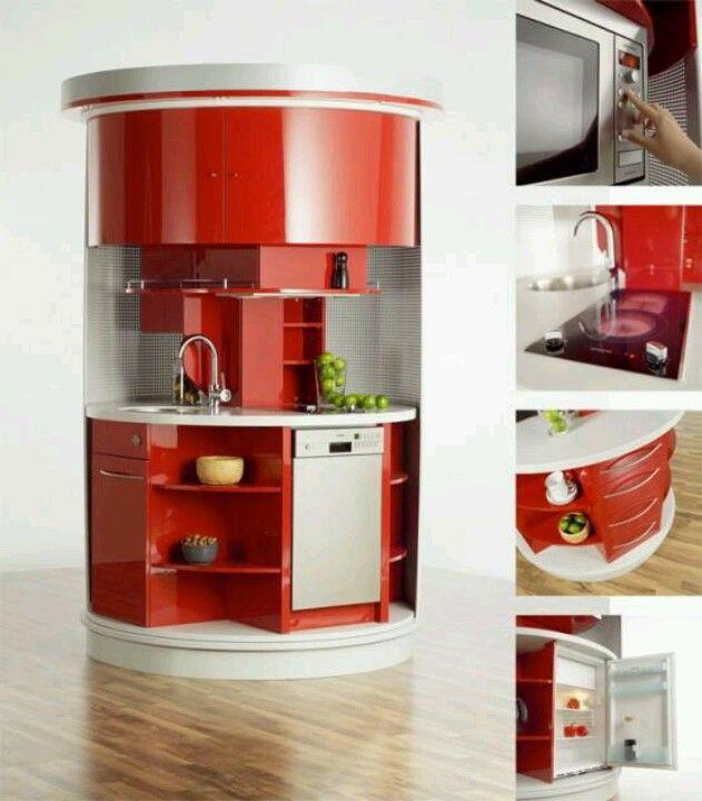 Muebles para Ahorrar Espacio en Cocina