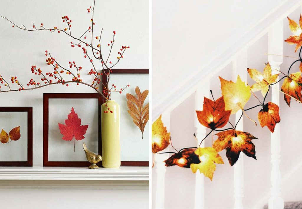 Ideas para decorar tu hogar en Otoño