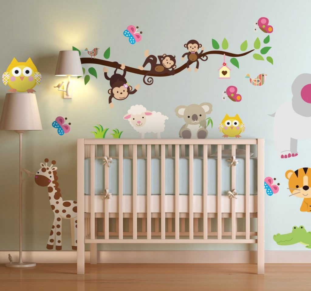 Cómo Tener un Cuarto Encantador para el Bebé