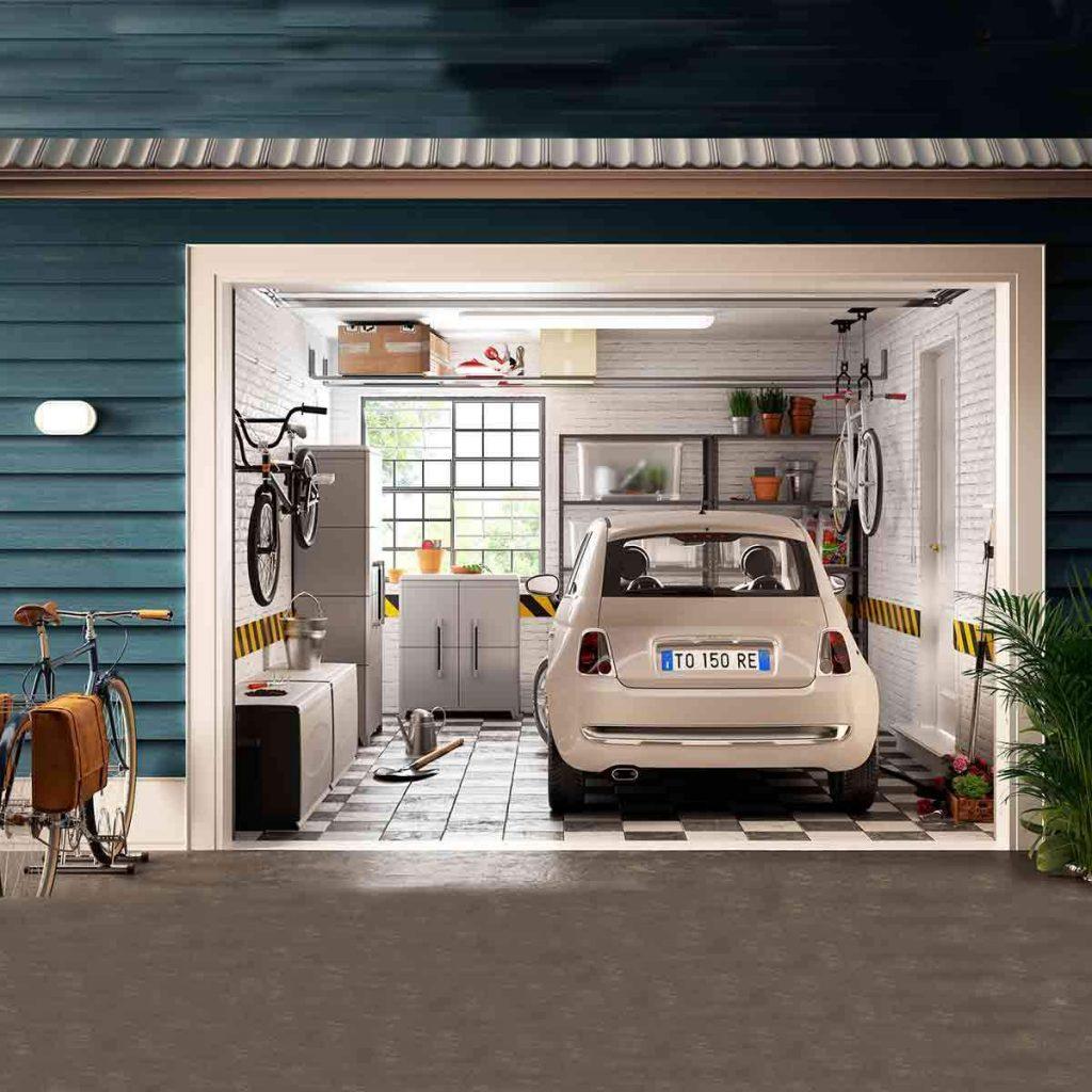 ¿Cómo podemos decorar el deposito o garaje de nuestra casa?