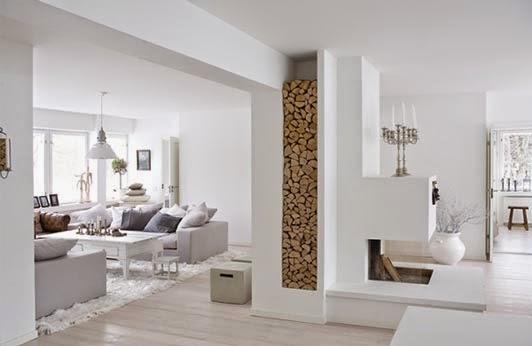 Disimular o Integrar Columnas y Vigas en la Habitaci贸n