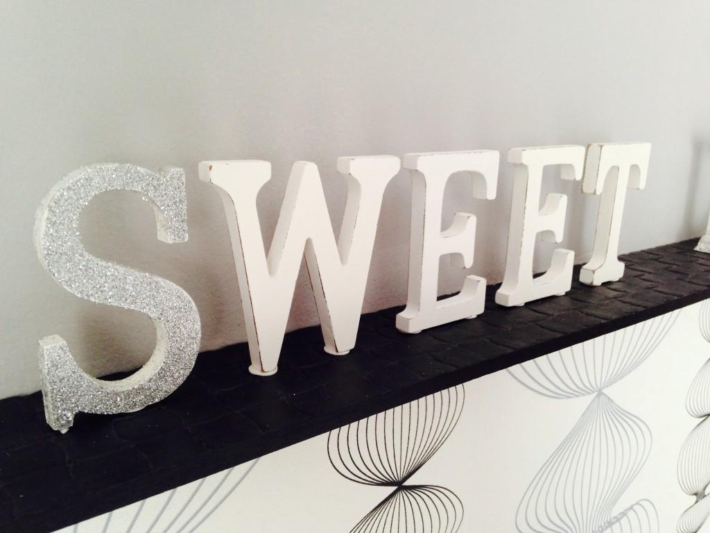 Usa Letras para darle estilo a tu hogar
