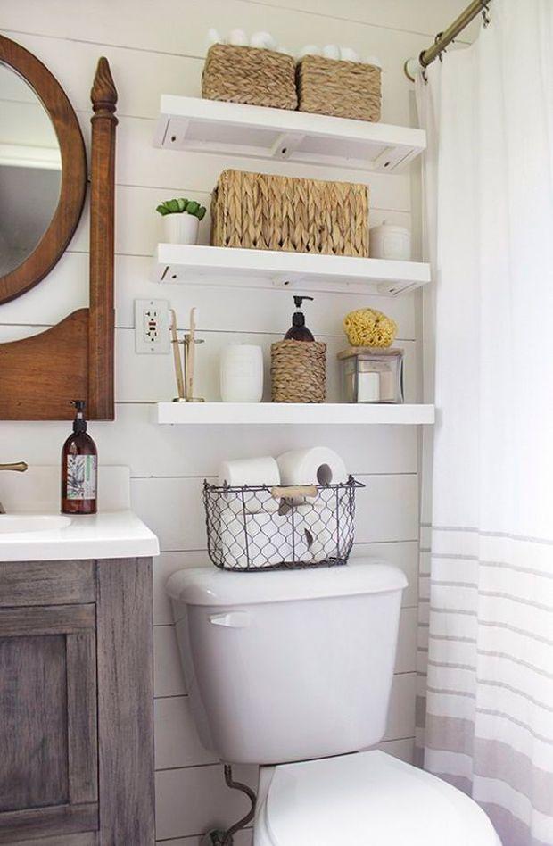 Ideas sencillas para ordenar un baño pequeño