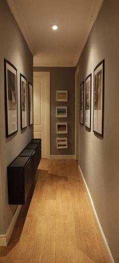 Decoraci贸n para escaleras o pasillos y evita los espacios pasillos en tu hogar