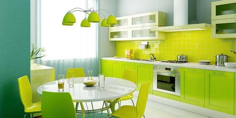 El Verde y el Amarillo en la Decoración de Interiores
