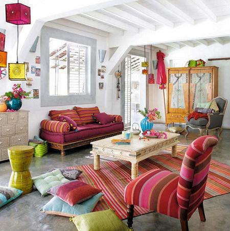 Para los amantes de los viajes, decora tu hogar con el estilo étnico